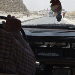 Taxi Jumpers at the Giza Pyramids